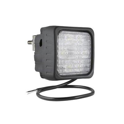 LED Arbeitsscheinwerfer Fernscheinwerfer 2500LM + Kabel + rückseitige montage