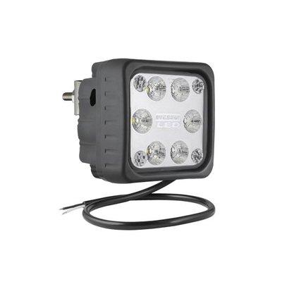 LED Arbeitsscheinwerfer Fernscheinwerfer 1500LM + Kabel + rückseitige montage