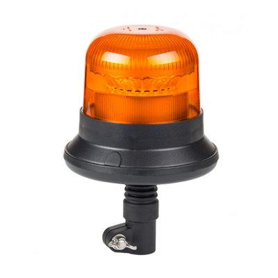 LED Blitzlampe DIN Montage Orange LDO-2661