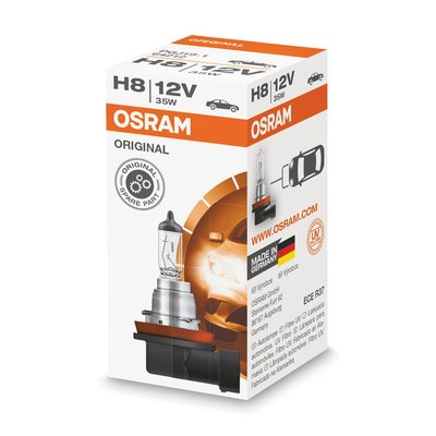Osram H8 12V Halogenlampe PGJ19-1 Original Line