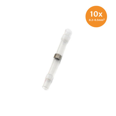Schrumpfschlauch Loetverbinder Weiss (0.2-0.5mm) 10 Stück