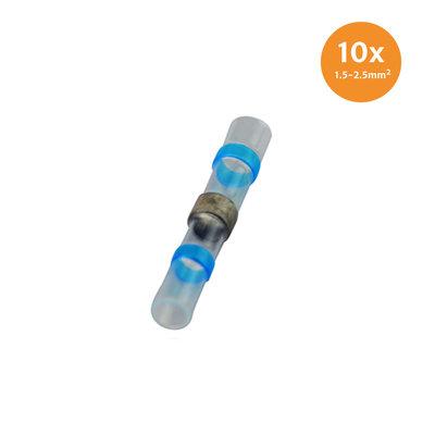 Schrumpfschlauch Loetverbinder Blau (1.5-2.5mm) 10 Stk
