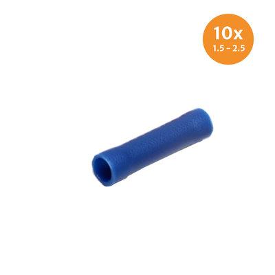 Stoßverbinder Blau (1.5-2.5mm) 10 Stück