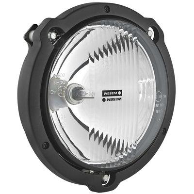 Rallye Zusatzscheinwerfer Fernlicht Mit Rahmen Ø180mm + Halogen Lampe