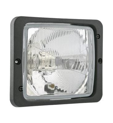 Wesem Einbau Scheinwerfer 172x142 + Frame