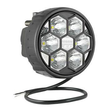 LED Arbeitsscheinwerfer Fernscheinwerfer 1500LM + Kabel + Hinter montage
