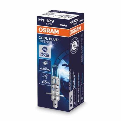 Osram H1 Halogenlampe 12V 55W P14.5s Cool Blue Intense