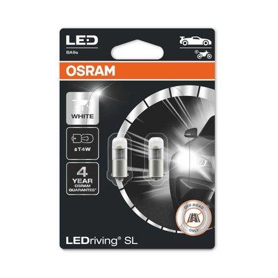 Osram T4W LED Retrofit Weiss 12V BA9s 2 Stück