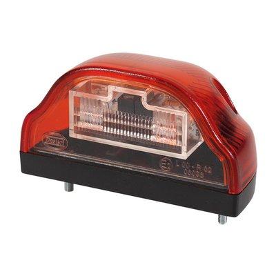 LED-Kennzeichenleuchte Rot 24V
