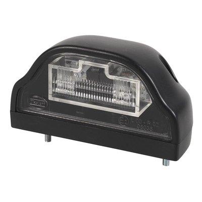 LED-Kennzeichenleuchte Schwarz 12V