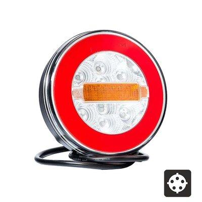 Fristom FT-110 Neon-look LED Rücklicht 3-Funktionen Bajonett