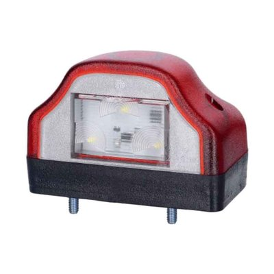 Horpol LED Kennzeichenbeleuchtung 12-24V Rot LTD 232