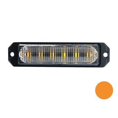 LED Blinker 6-Fach Ultra Flach Orange