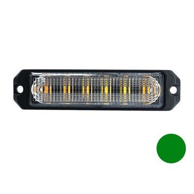 LED Blinker 6-Fach Ultra Flach Grün