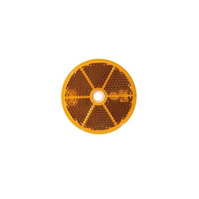 Runder Reflex - Reflektor Ø60mm Orange