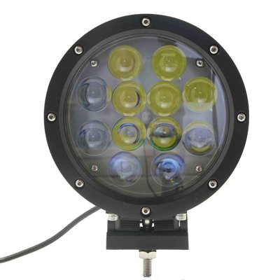 60W LED Fernscheinwerfer Schwarz