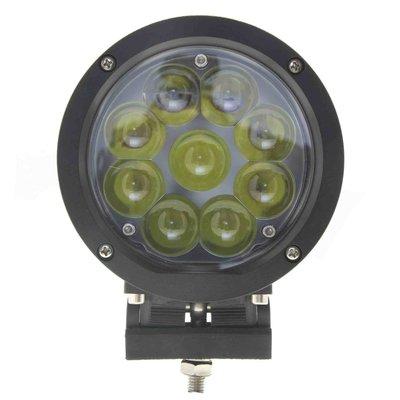 45W LED Fernscheinwerfer Schwarz