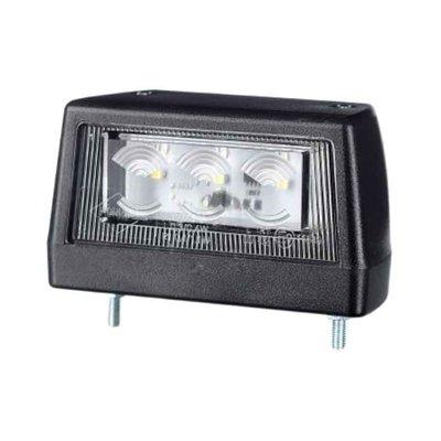 Horpol LED Kennzeichenbeleuchtung 12-24V Schwarz LTD 2110