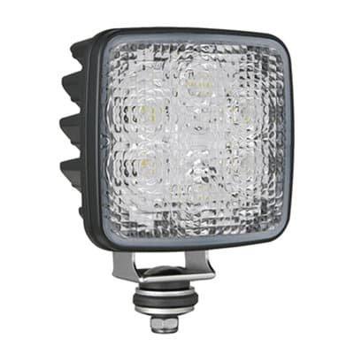 Wesem CRK2 LED Arbeitsscheinwerfer Eckig + 0,5m Kabel