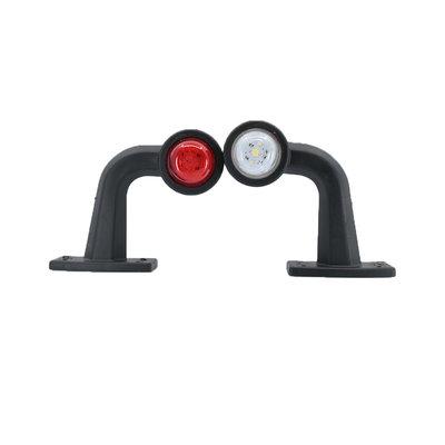 LED Begrenzungsleuchte 10-30V Weiss + Rot (Satz)