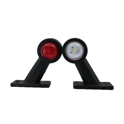 LED Begrenzungsleuchte 10-30V Rot + Weiss (Satz)