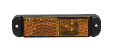 LED Seitenmarkierung Orange mit Reflector