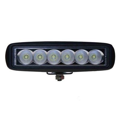 18W LED Arbeitscheinwerfer Breitstrahler Rechteckig Basic