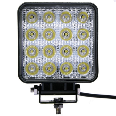 48W LED Arbeitsscheinwerfer Eckig Basic