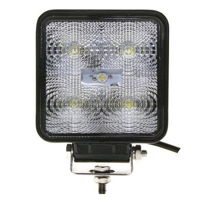 15W LED Arbeitsscheinwerfer Eckig