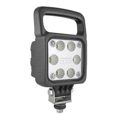 LED Arbeitsscheinwerfer Breitstrahler Mit Griff 2500LM + Deutsch-DT