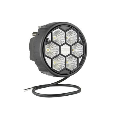 LED Arbeitsscheinwerfer Breitstrahler 2500LM Hinter Montage + Kabel