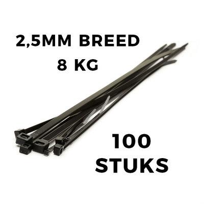 Kabelbinder 100 stuck 100x2,5