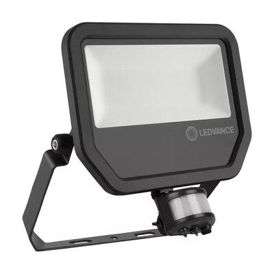 50W LED Fluter 230V + Sensor 4000K