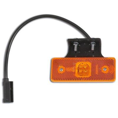 LED Seitenmarkierungsleuchte Orange 24V
