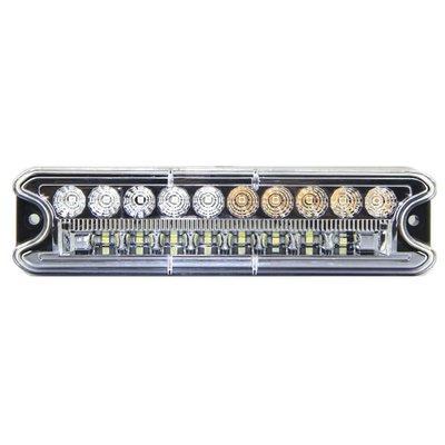 4-Funktions LED Rückleuchte Rechteckig