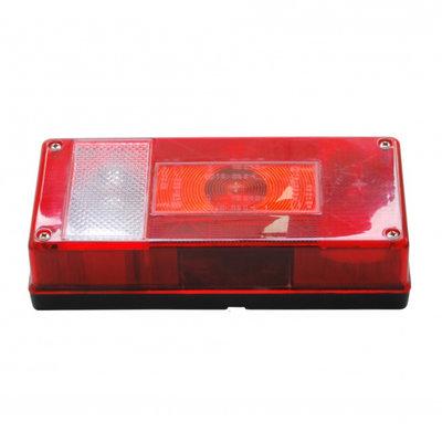 Aspöck Rückleuchte Midipoint 1 Rechts + Rückfahrscheinwerfer