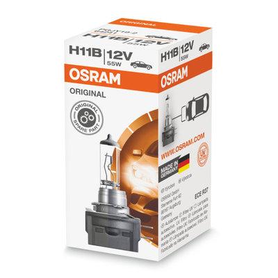 Osram H11B Halogen Lampe 12V BA15s Original Line