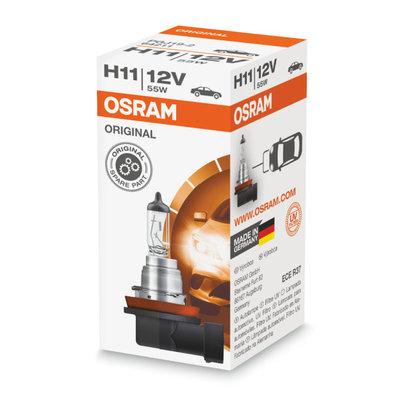 Osram H11 Halogen Lampe 12V PGJ19-2 Original Line