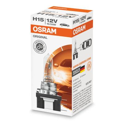 Osram H15 Halogen Lamp 12V PGJ23t-1 Original Line
