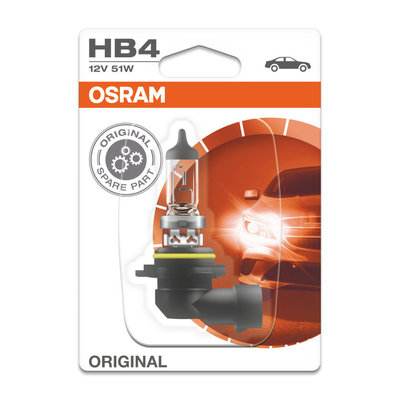 Osram HB4 Halogen Lampe 12V P22d Original Line