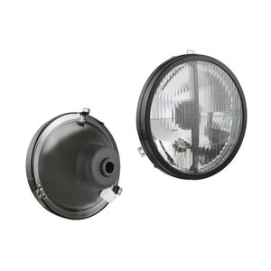 Koplamp VW Transporter Tuning, Lamp glass: Ø182mm
