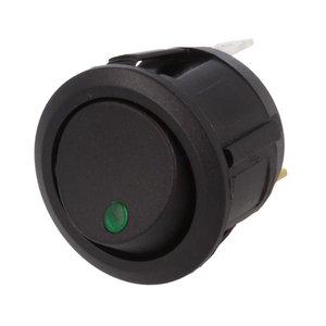 Einbau Schalter Rund 12V 20A Grün