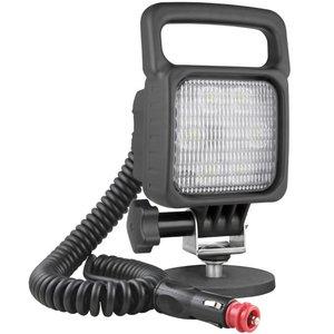 LED Arbeitsscheinwerfer Breitstrahler 2500LM + Kabel + Schalter + Zigarettenstecker
