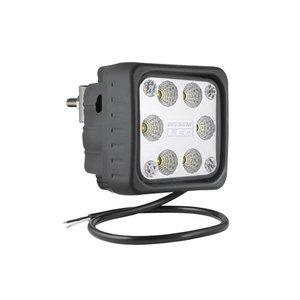 LED Arbeitsscheinwerfer Breitstrahler 2500LM + Hinter montage