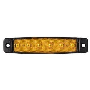 LED Seitenmarkierungsleuchte Kurz Orange 12V oder 24V